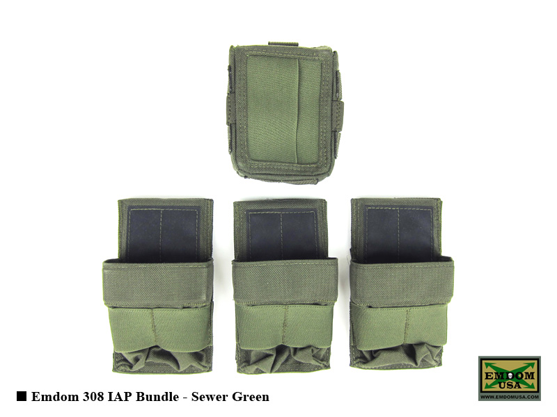 Emdom 308 IAP Bundle (Sewer Green)