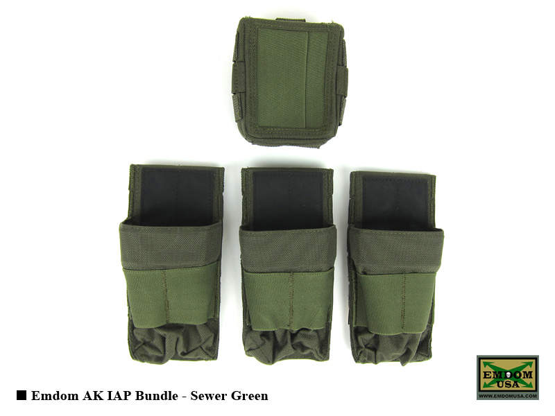 Emdom AK IAP Bundle (Sewer Green)