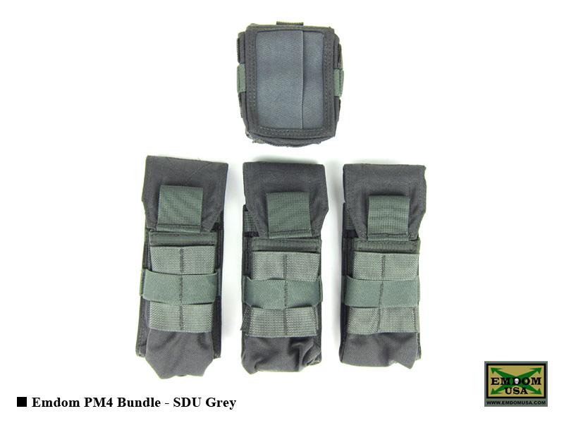 Emdom PM4 Bundle - SDU Grey
