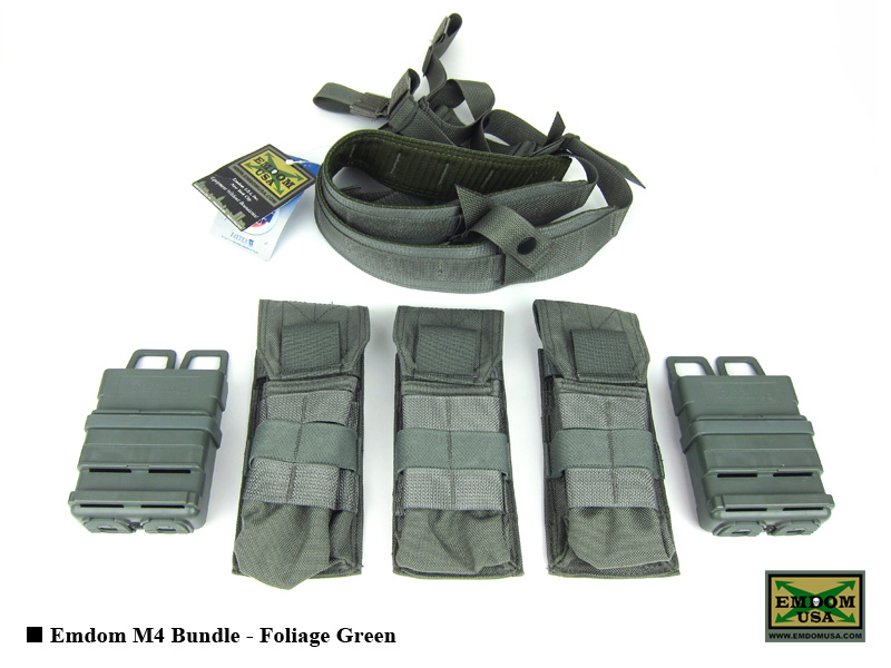 Emdom M4 Bundle - Foliage Green