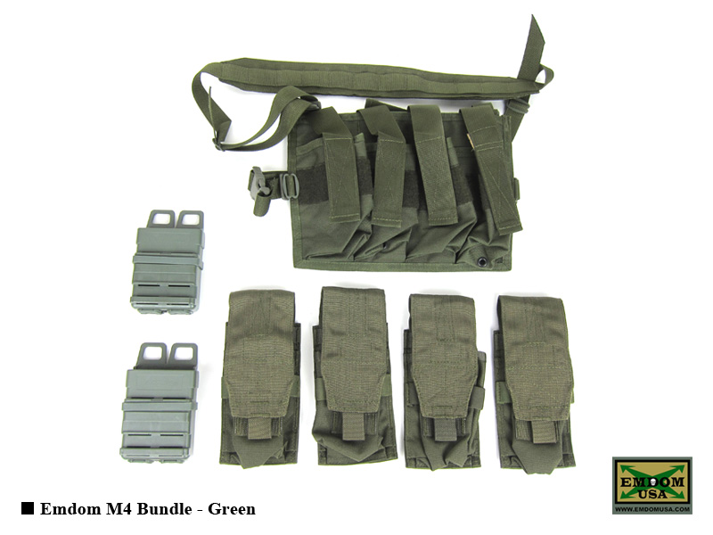 Emdom M4 Bundle - Green