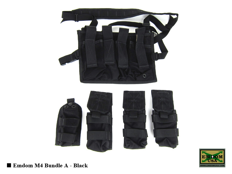 Emdom M4 Bundle A - Black
