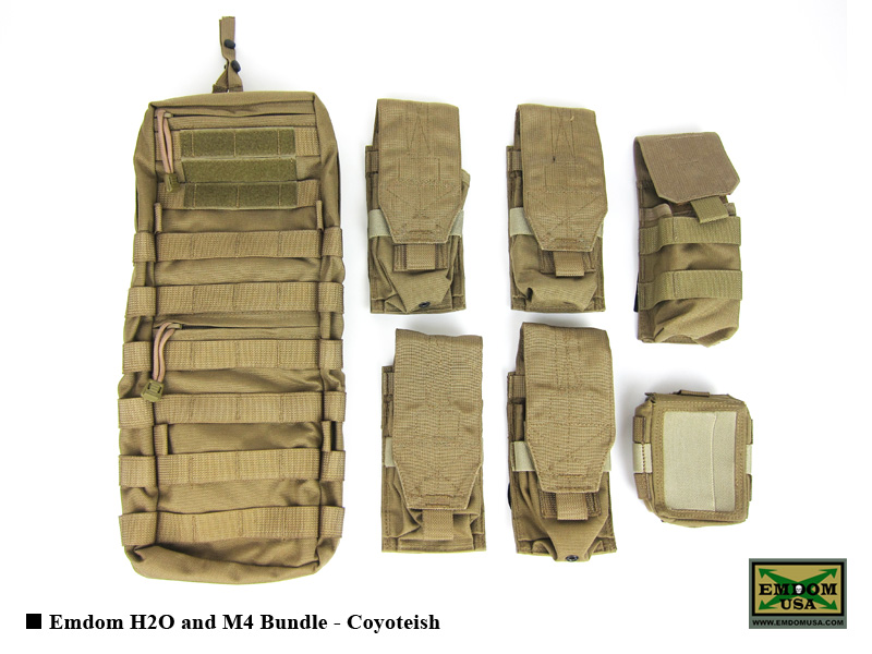 Emdom H2O & M4 Bundle - Coyoteish