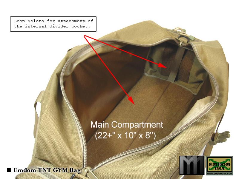 f9913ddedb6 Emdom MM TNT GYM Bag